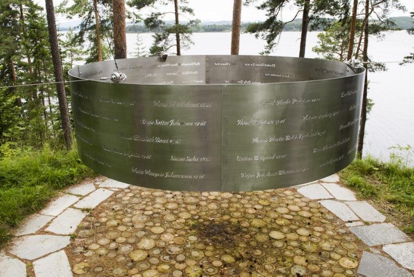 SEITSE AASTAT VERESAUNAST: originaalne mälestusmärk jääb Utøya saarele püstitamata