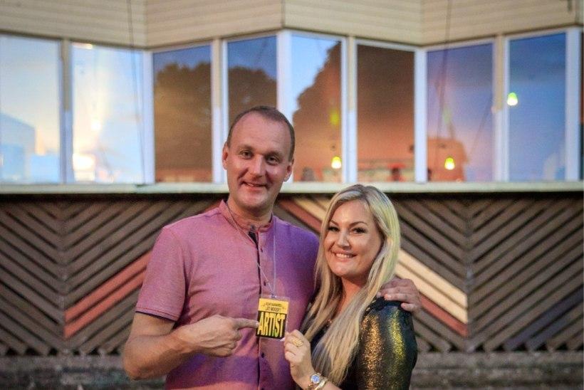ÕL VIDEO JA GALERII | Suur rahvapidu Läti moodi – laval möllab Saksamaa retrobänd, müügiks kallis Eesti alkohol