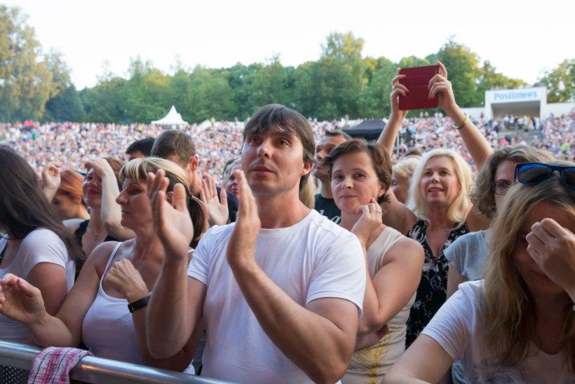 MÖLLUGALERII | Legendaarne A-ha esines üle 15 aasta taas Eestis