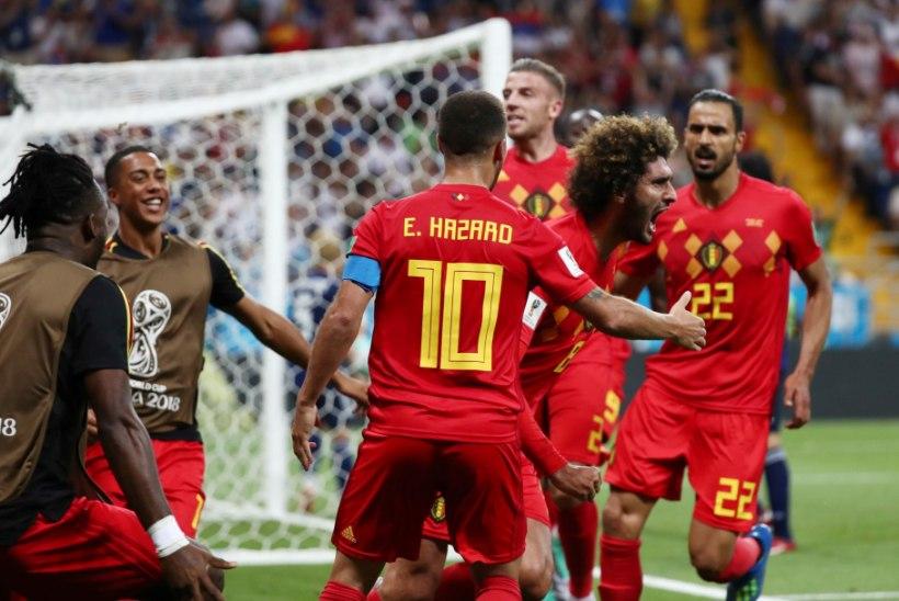 1d2e39b21e7 NII SEE JUHTUS | Jalgpalli MM: Belgia pääses ülenoatera, Brasiilia näitas  musklit, nüüd