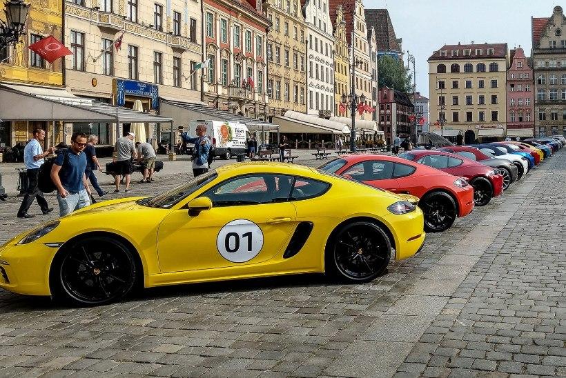 Paradiis Porsche moodi ehk juubilariga Sileesia teedel sõidumõnulemas