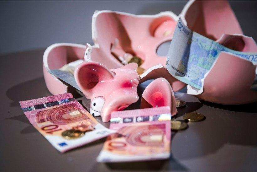 Surmaunne saadetud firmad jätavad maha kümneid miljoneid eurosid võlgu
