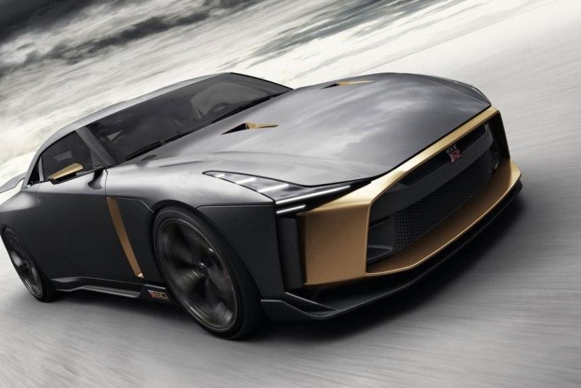 NÄMM: legendaarse Nissan GT-Ri juubeliversioon ajab suu vett jooksma