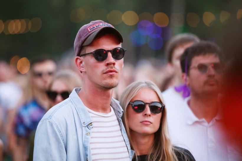 FOTO   Andres Kõpper nautis tüdruksõbraga Positivus festivali