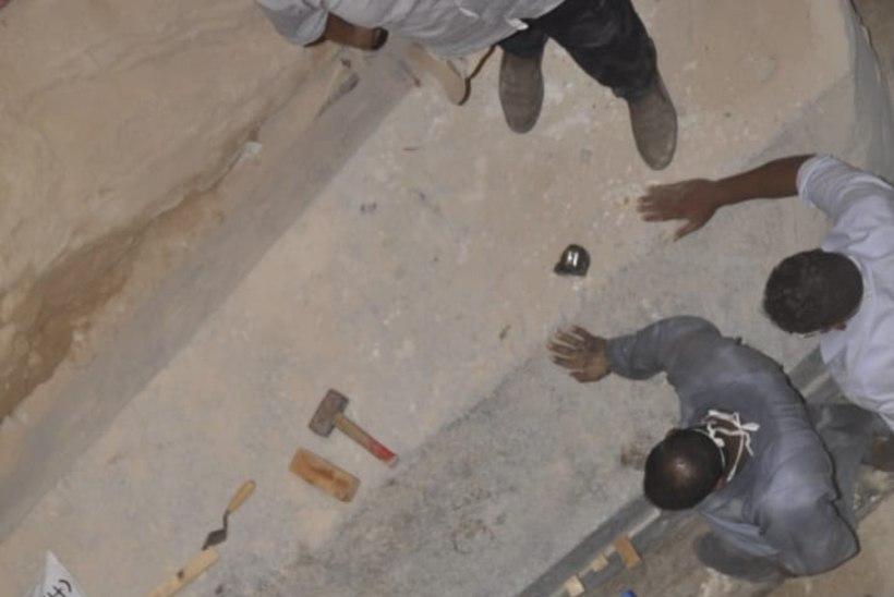 FOTOD | Egiptuses avati viimaks hiiglaslik sarkofaag