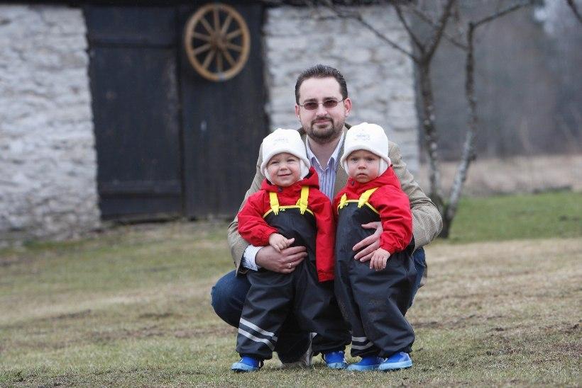 GALERII   Topeltrõõm ja -pahandus! Tuntud eestlased, kelle peres kasvavad kaksikud