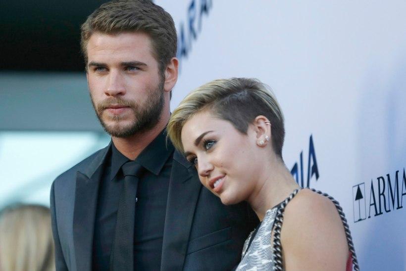 Miley Cyrus ja Liam Hemsworth siiski ei läinud lahku?