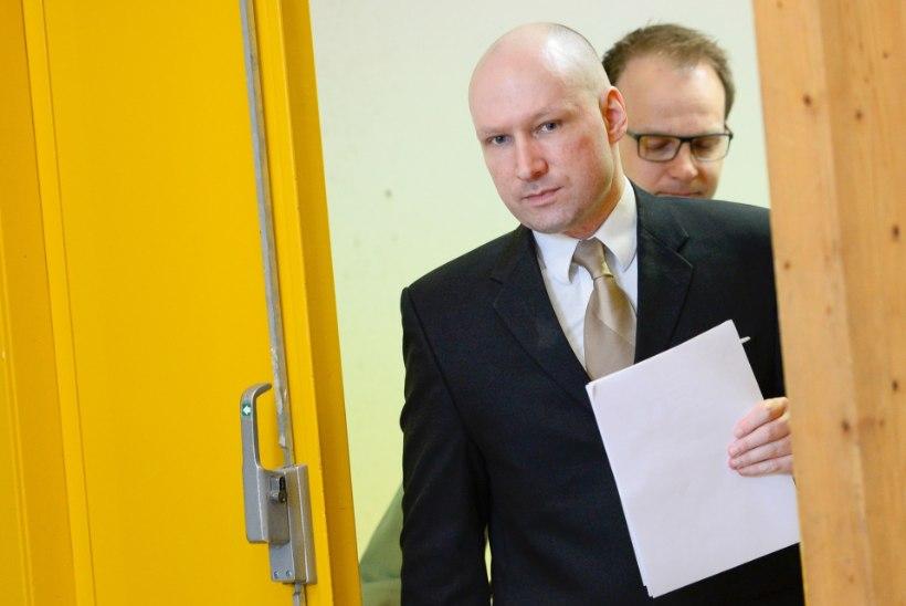 Utøya massimõrvar: mind koheldakse vanglas ebainimlikult