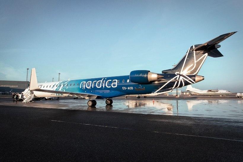 Töötajad on haiged: Nordica tühistas mitu tänast lendu