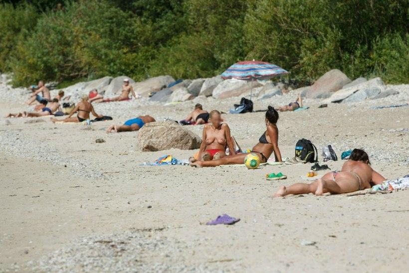 ÕL VIDEO | Miks pole Eesti randades topless-päevitajaid?