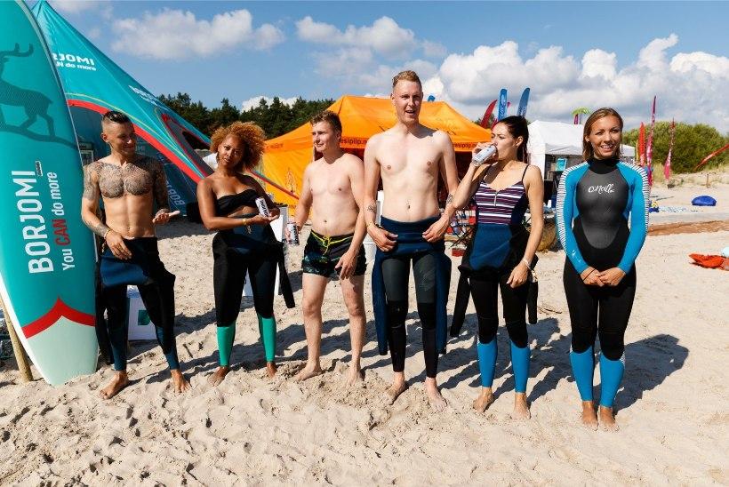 ÕL VIDEO | Surfilaager 20: vaata, milline möll käib Pärnumaal Valgeranna kuumal rannaliival