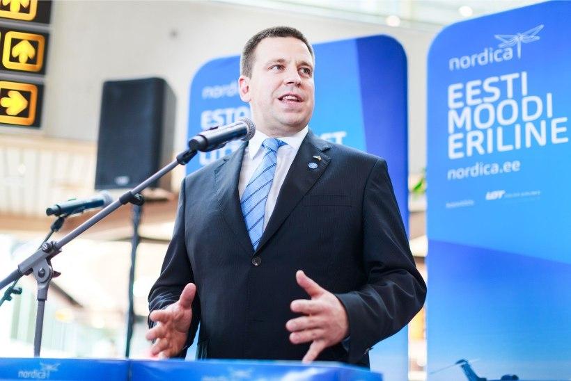 SELGUS MAJAS: selgeltnägija sõnul jätkab Jüri Ratas peaministrina ka pärast valimisi