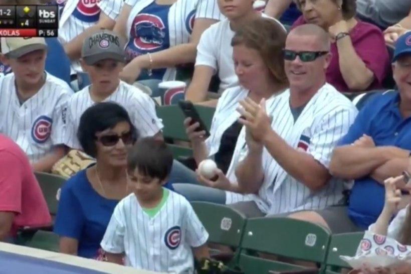 SÜDAMETU! Täiskasvanud mees varastas pesapallimängus väikeselt poisilt palli