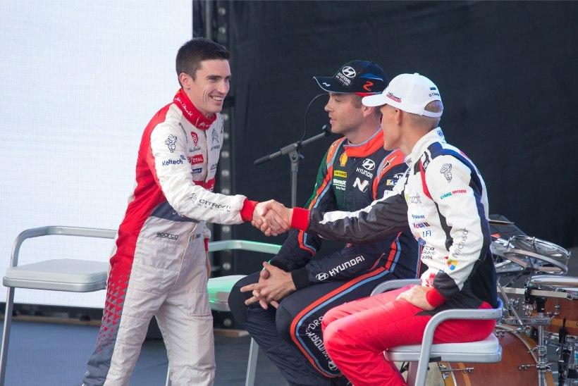Citroeni WRC-tiim sai Rally Estonialt Soome ralliks väga palju positiivset