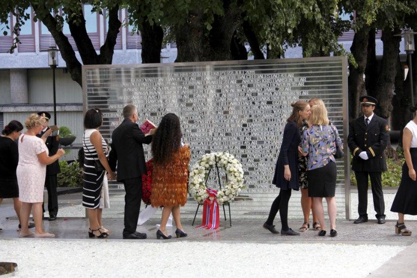 77 OHVRI MÄLESTUSEKS: Oslos avati memoriaal Breiviku ohvritele