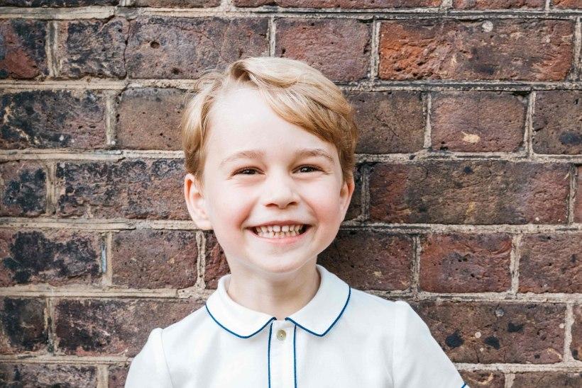 VAHVA VIIENE: prints George'i sünnipäeva puhul avaldati lustakas portree