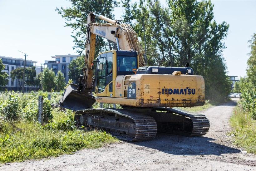 LINNAPILT MUUTUB TUNDMATUSENI: Reidi tee ehituse kollane kopp löödi maasse
