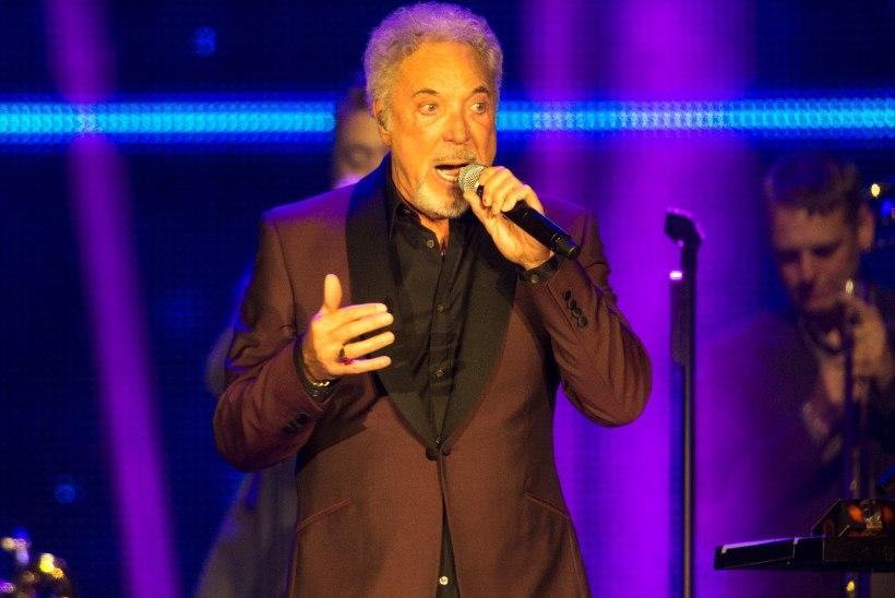 Tom Jonesi homne Soome kontsert jääb haiguse tõttu ära