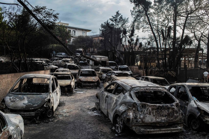 ÕUDUS KREEKAS: maastikupõlengutes vähemalt 74 hukkunut