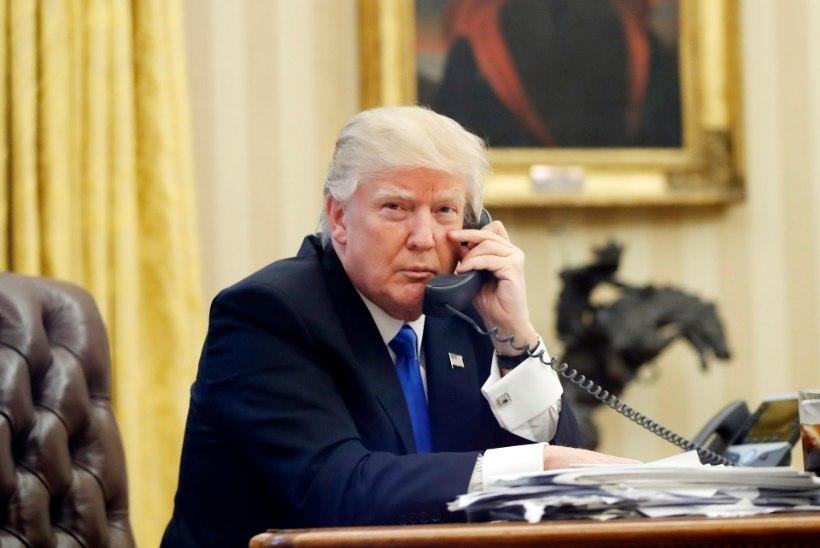 CNN: Valge Maja ei avalikusta enam Trumpi telefonikõnesid teiste riigipeadega