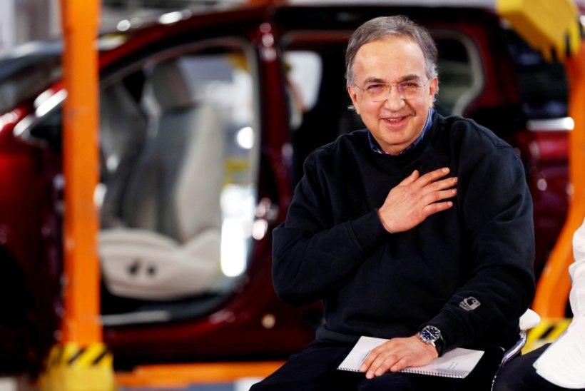 Suri mõned päevad tagasi Fiati Chrysleri tegevjuhi kohalt lahkunud Sergio Marchionne