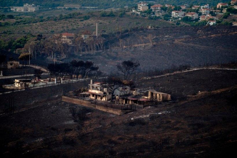 Kreeka kaitseminister: tule levikut soodustasid illegaalselt valminud ehitised