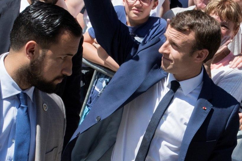 Meedia: vallandatud turvamees oli Emmanuel Macroni salajane silmarõõm