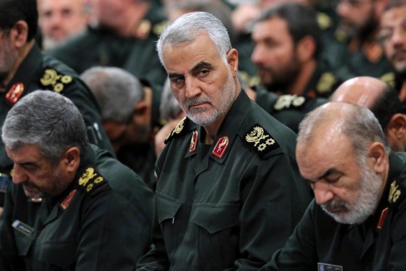 Iraani kõrge sõjaväeametnik Trumpile: sõda hävitaks kõik, mis sulle kuulub