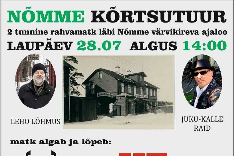 Juku-Kalle Raid korraldab sünnipäeva puhul homme baarituuri