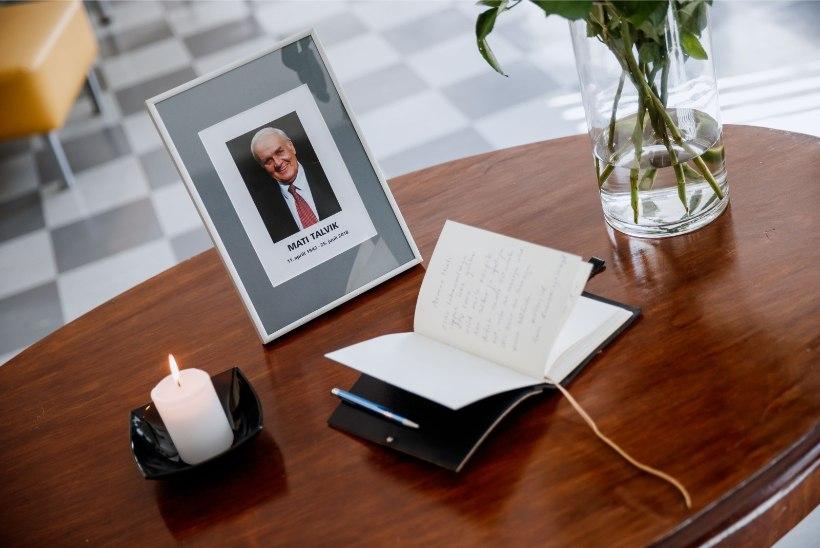 FOTOD | Telemajas avati Mati Talviku mälestusraamat