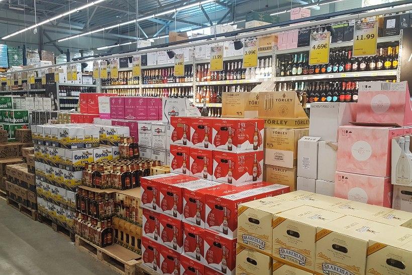 Eesti alkoholitootjad poputavad Läti piiripoode soodsate hulgihindadega