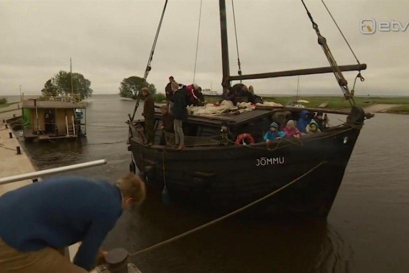VIDEO: Peipsi järve sadamates peetakse nädala lõpuni pidu
