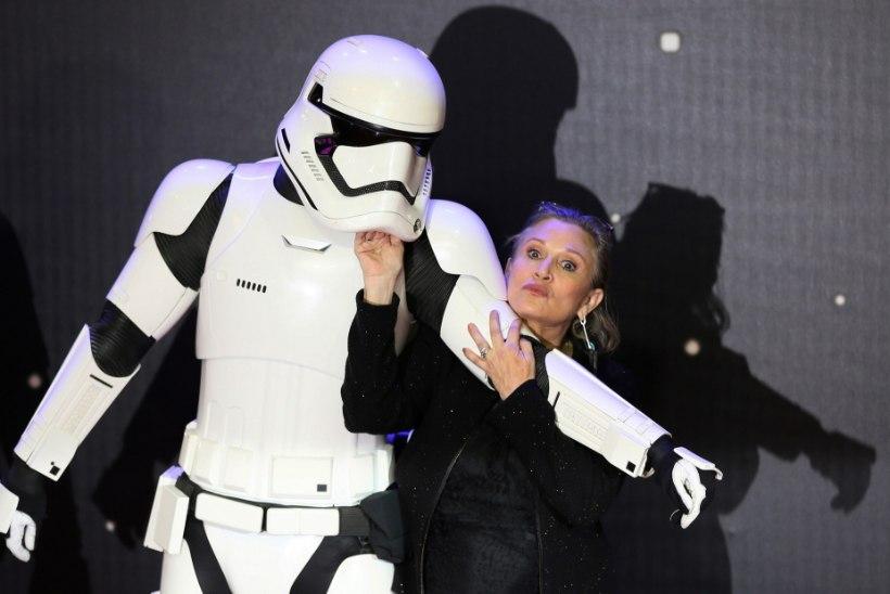 """Kadunud Carrie Fisherit näeb printsess Leiana ka järgmises """"Star Warsis"""""""