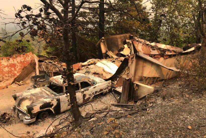 VIDEO | California maastikupõlengutes on hukkunud kuus inimest