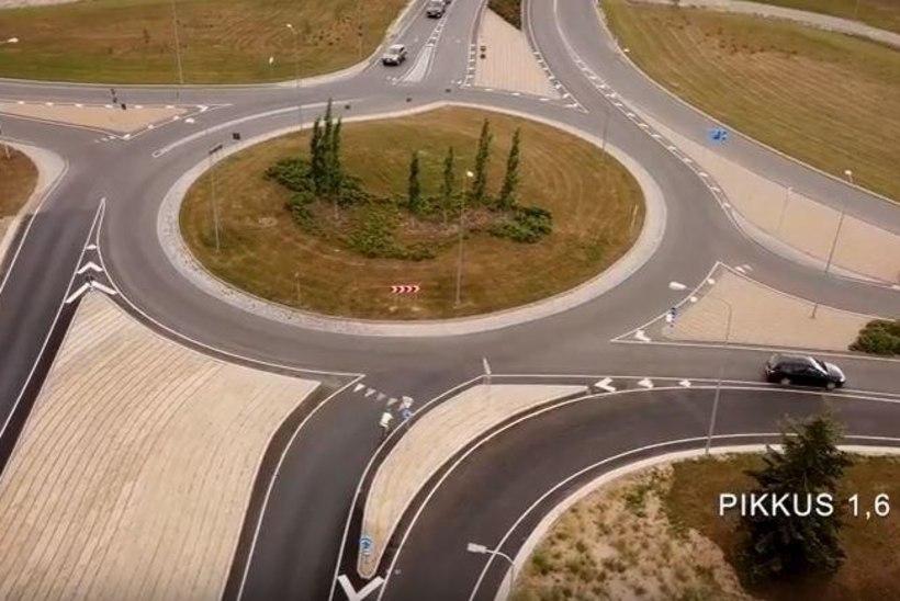 Tartu linna idapoolne ümbersõidutee on valmis