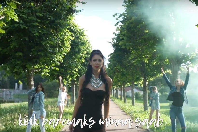 VIDEO | Laura Põldvere tegi uuele singlile koos 40 noore tantsijaga ägeda muusikavideo