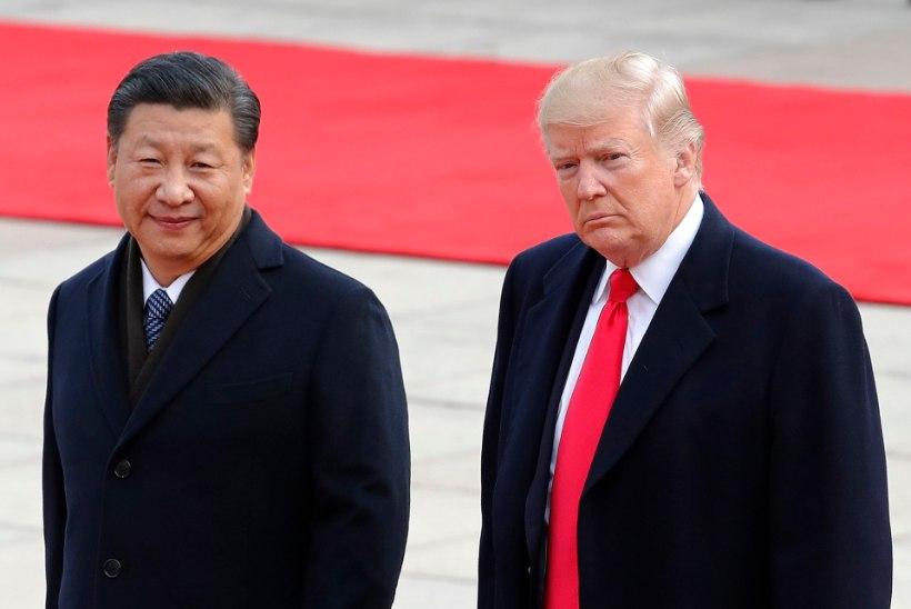Jõustusid USA majandussanktsioonid Hiina suhtes