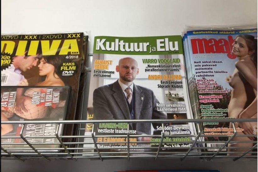 PÄEVA KLÕPS  | Varro Vooglaid leidis end kahe pornoajakirja embuses