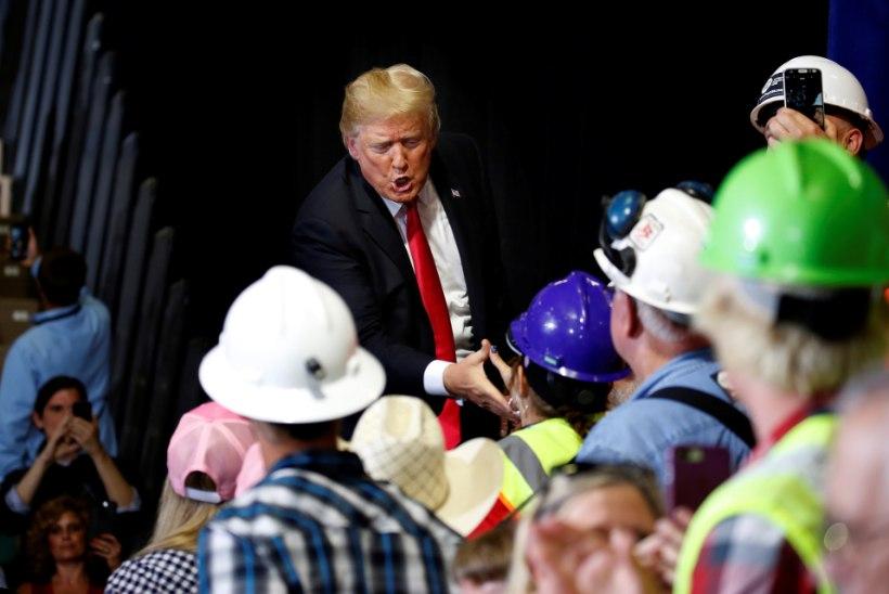USA president Donald Trump – ummamuudu, aga vägev