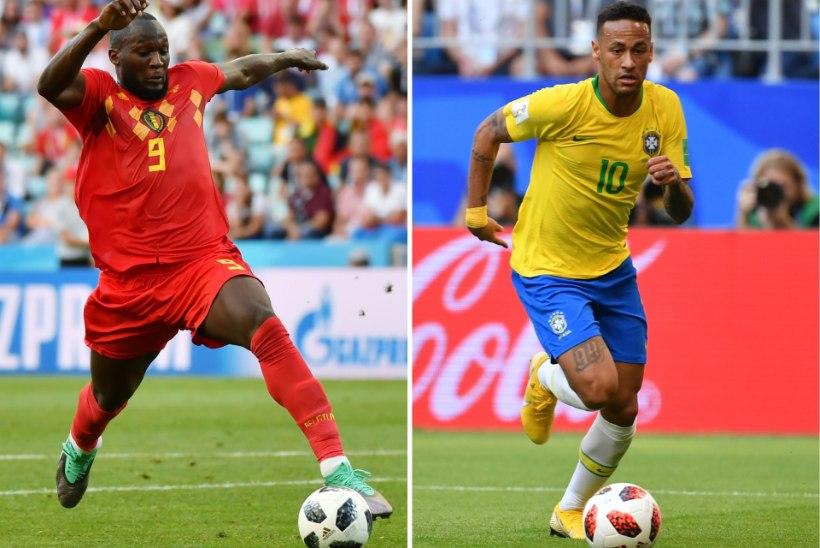 Romelu Lukaku astus enne veerandfinaali Neymari kaitseks välja