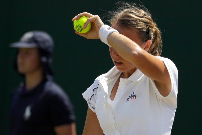 NII SEE JUHTUS | Ebakindel Kontaveit langes Wimbledonis konkurentsist