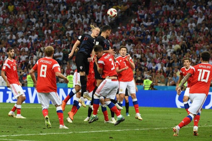 5aa52a0b544 NII SEE JUHTUS | Jalgpalli MM: finaalis mängib kas Horvaatia või Inglismaa!