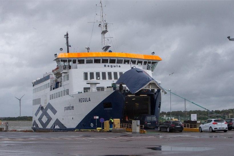 Katkise parvlaeva esmane remont maksis ligi 4500 eurot