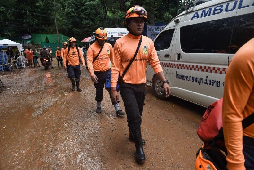 Päästetegevus on alanud: koopas lõksus olevad Tai poisid võivad kõige varem vabaneda õhtuks