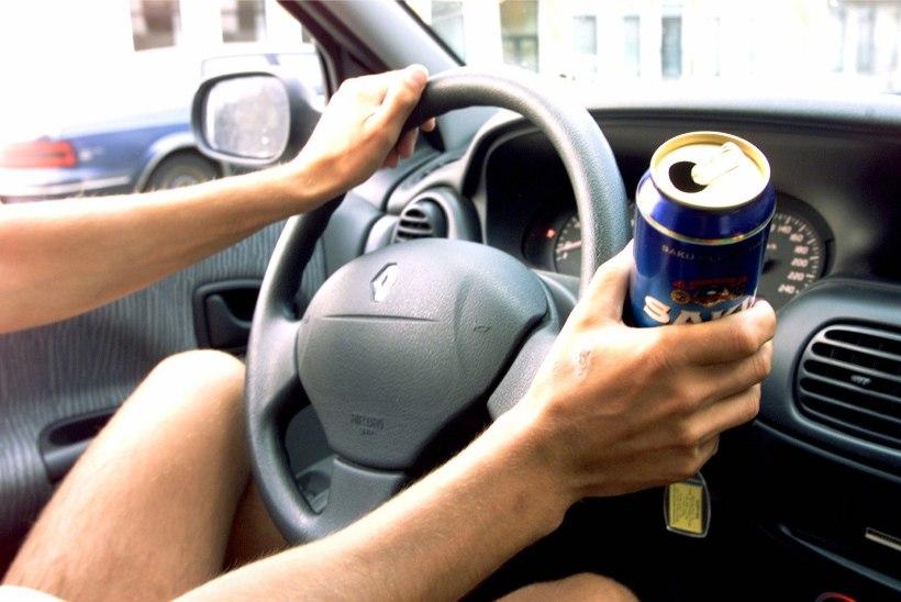 Järvamaal põrutas purjus mees autoga teelt välja