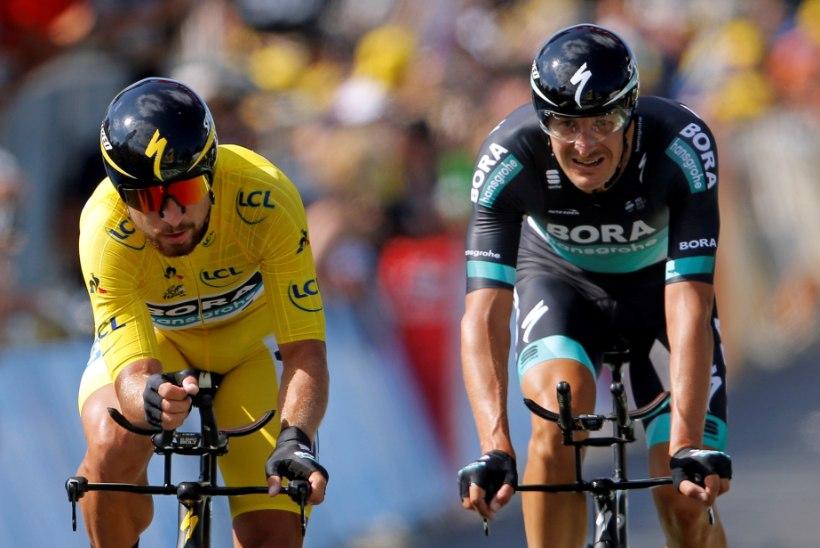 Slovakkia täht jäi Tour de France'il kollasest särgist ilma, Taaramäe kaotas aega