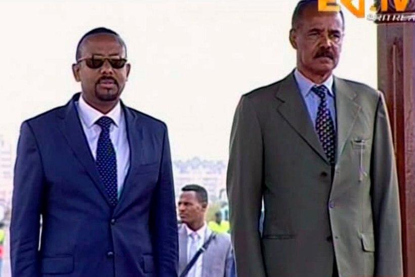 MIDAGI POSITIIVSET: Etioopia ja Eritrea kuulutasid sõja lõppenuks