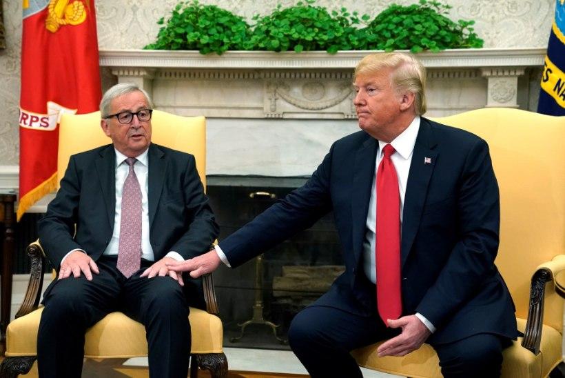 Juncker sõidab sügise alguses taas Washingtoni läbirääkimistele