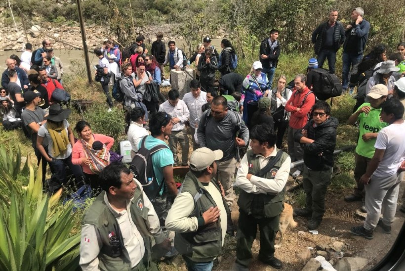 FOTOD   Machu Picchu lähistel sai viga 15 turisti