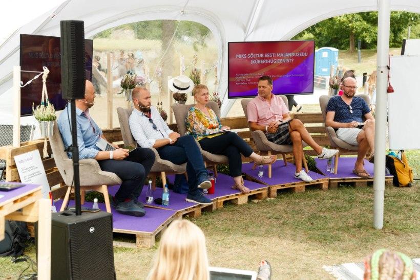 Kas arvamusfestival on rohkem mehe või naise nägu?